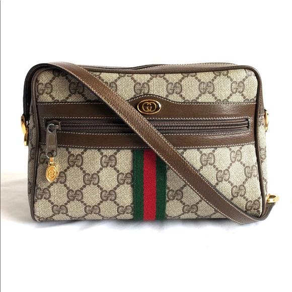 05e523ac8b2 Gucci Handbags - Gucci Vintage GG Suprem Small Camara Shoulder Bag